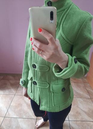Брендовый теплый пиджак