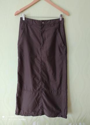 Спортивная юбка макси, размер 36 (44)