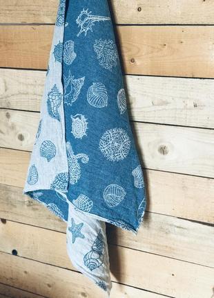 Лляний рушник льняное полотенце