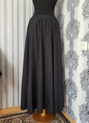 Брендовая топовая длинная юбка макси клеш mexx