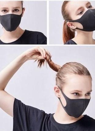 Защитная маска лица не медицинская pitta