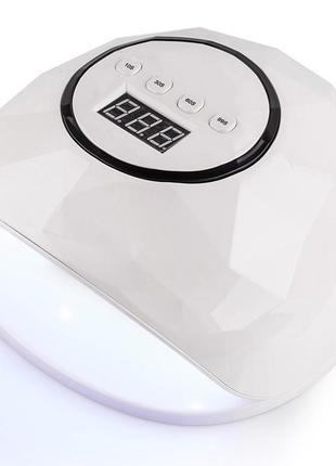 Гибридная лампа uv/led sun f5 72w white