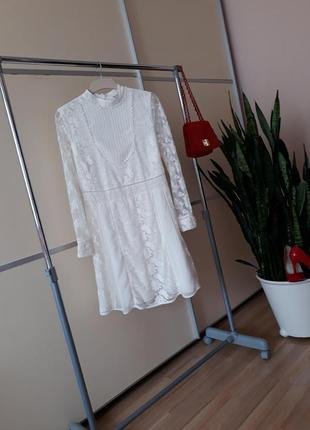 Шикарное кружевное платье 1+1=3