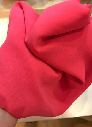 Ткань шифон - красный чистый: 150/200 = 200грн.  (платье, халат, туника)