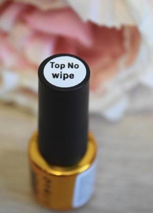 Топ каучуковый без липкого слоя для ногтей f.o.x rubber top no wipe , 6 мл