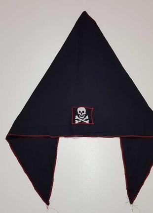 Бандана пирата, череп, сост. отличное!