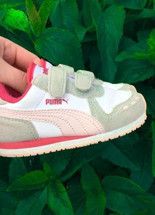 Детские кроссовки puma 24 размер