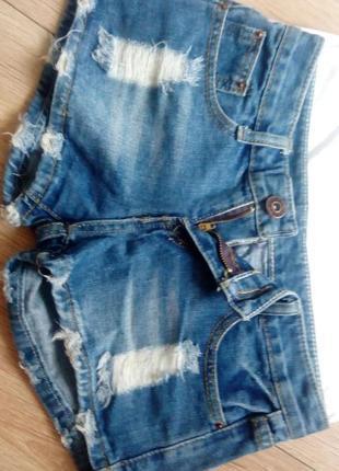 Шорти  джинсові # джинсовые шорты xs-s