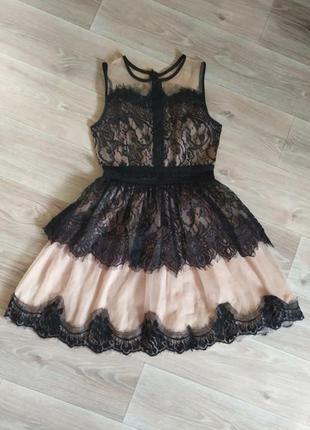 Вечернее, кружевное платье 🖤