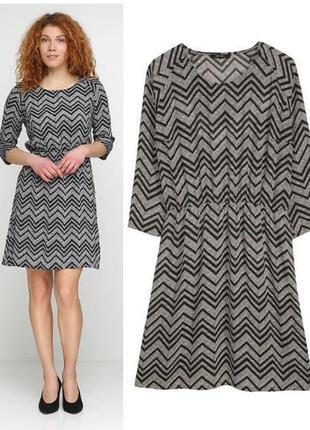 Легкое шифоновое платье l 40 euro (наш 46), esmara, германия