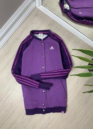 Adidas женская свитшот худи толстовка кофта адидас американка бомбер оригинал