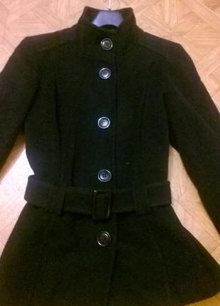 Cтильная теплая качественная шерстяная куртка/ шерсть / кашемир /