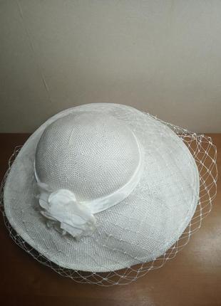 Шляпа с вуалью англия