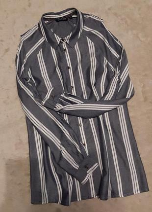 Рубашка длинный рукав,открытое плечо размер 12-14 desert lily memo collection
