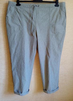 Летние хлопковые штаны