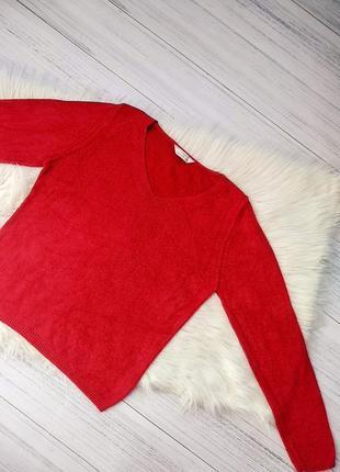 Вискоза свитер  пуловер вязаный