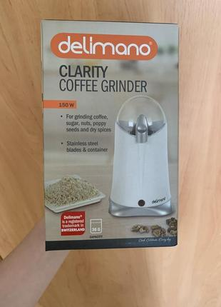 Новая кофемолка измельчитель delimano