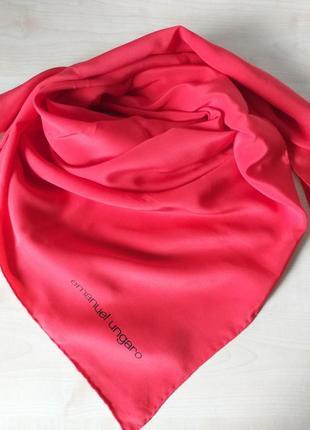 Emanuel ungaro  шелковый платок