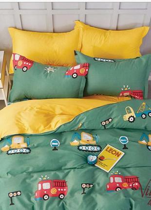 Комплект постельного белья подростковый сатин