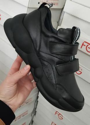 Кожаные кроссовки fabio gutti