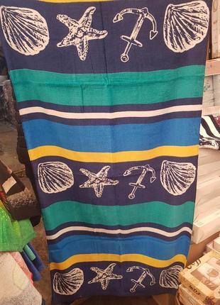 Пляжное полотенце морское