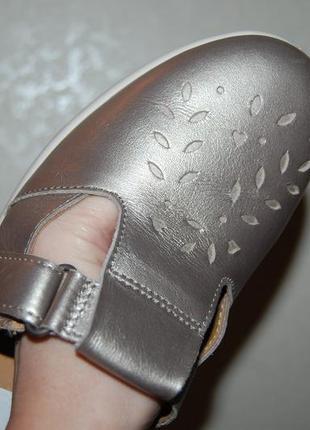 Туфли сандали кожа на липучке 40 р 26 см англия3 фото