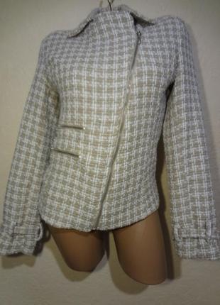 """Короткое пальто/пиджак """"косуха"""" размер м"""