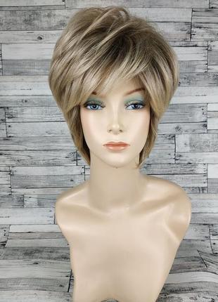 Парик женский короткая стрижка vega-r10-26 tld125 блонд 7736
