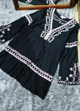 Вышиванка блуза кофточка с вышивкой debenhams