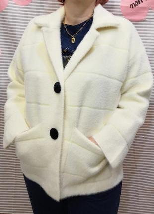 Куртка- кардиган,альпака, размер 48-54.