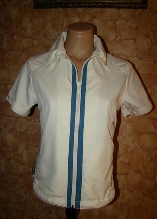 Жилетка (рубашка) в спортивном стиле на молнии sun valley (р.medium/l/xl)
