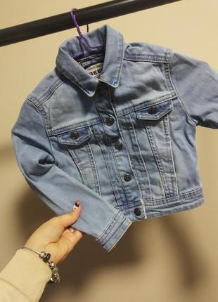 Джинсовая курточка может подойти как на мальчика так и на девочку