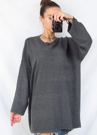 Удлиненный свитер, туника