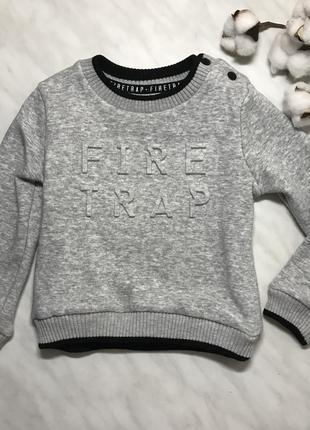 Стильный утепленный свитер