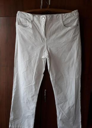 Белые джинсы canda