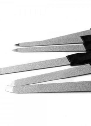 Пилка для ногтей двусторонняя металлическая, 1 шт