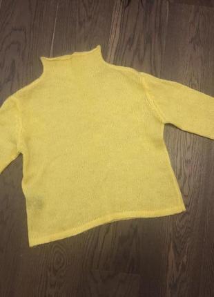 Яркий сочный свитер
