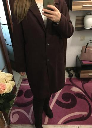 Пальто оверсайз большой размер