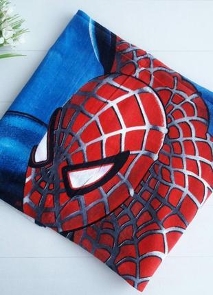 Пляжное детское полотенце человек-паук