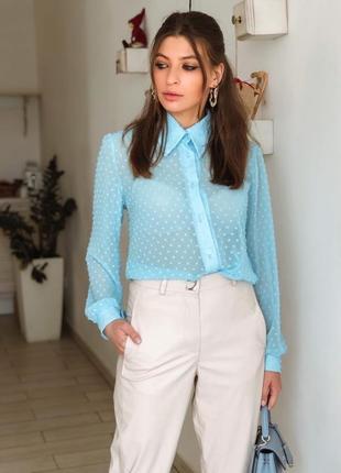 Нежные и романтичные блузки 2 цвета