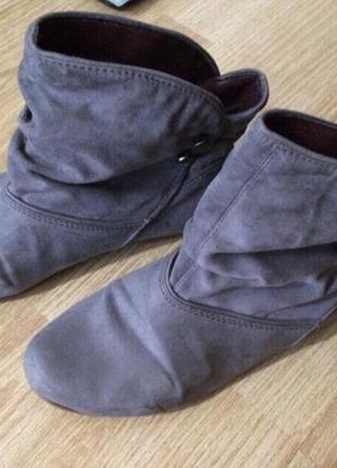 Ботинки zara / полусапожки
