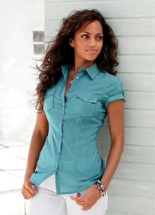 Стильная блуза рубашка vero moda с оригинальными рукавами