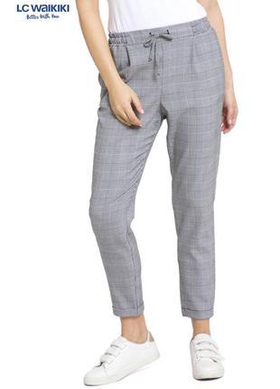 Новые штаны в узор гусиной лапки lc waikiki