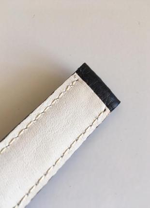 Ремешок для часов кожаный 20 мм4 фото