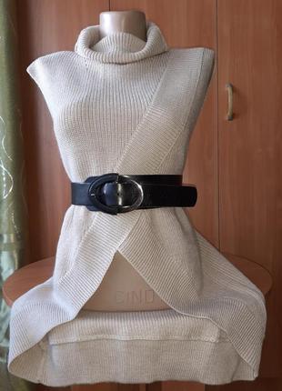 Liu jo ассиметричная кофта накидка кардиган /размер s-m