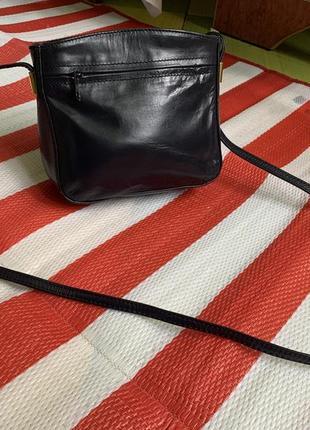 Стильная кожаная сумка кроссбоди/100% кожа