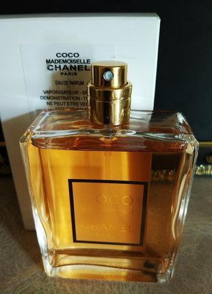 Chanel coco mademoiselle духи парфюм шанель коко мадемуазель тестер без крышечки 100 мл.