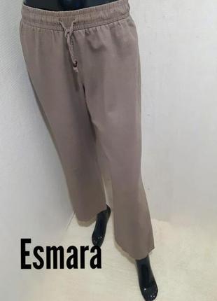 Актуальные брюки штаны/ лен/ вискоза