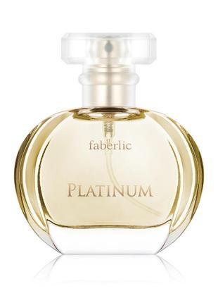 Парфюмерная вода для женщин platinum, 30 ml