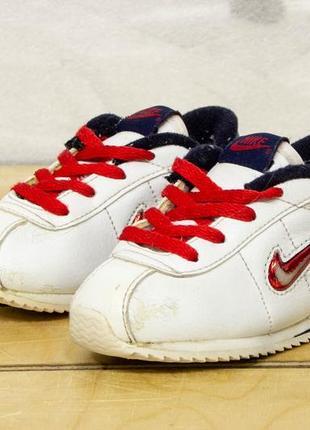 Nike cortez 21,5 - 12,5 см кроссовки детские